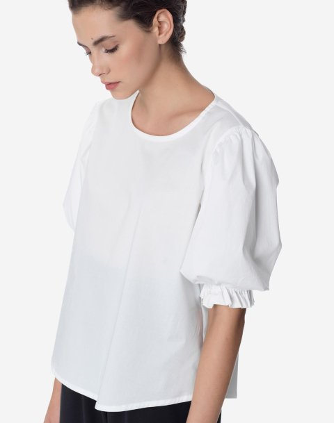Top with puff sleeve