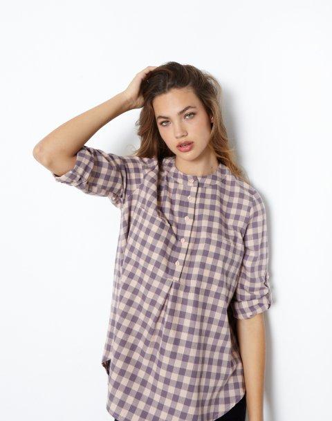 Καρό πουκάμισο με τσέπη