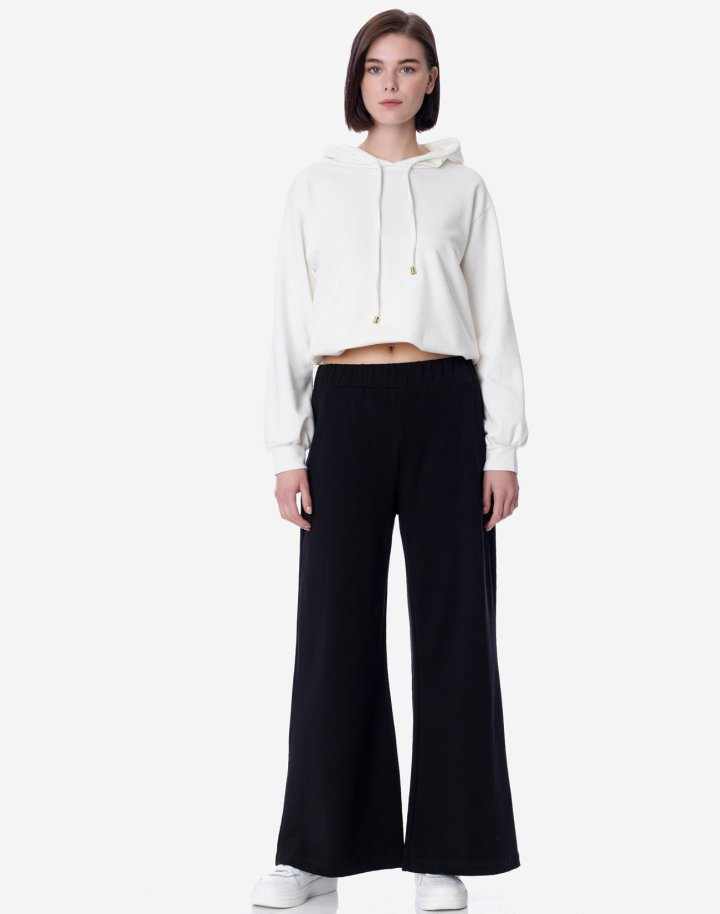 Παντελόνα από ύφασμα φούτερ