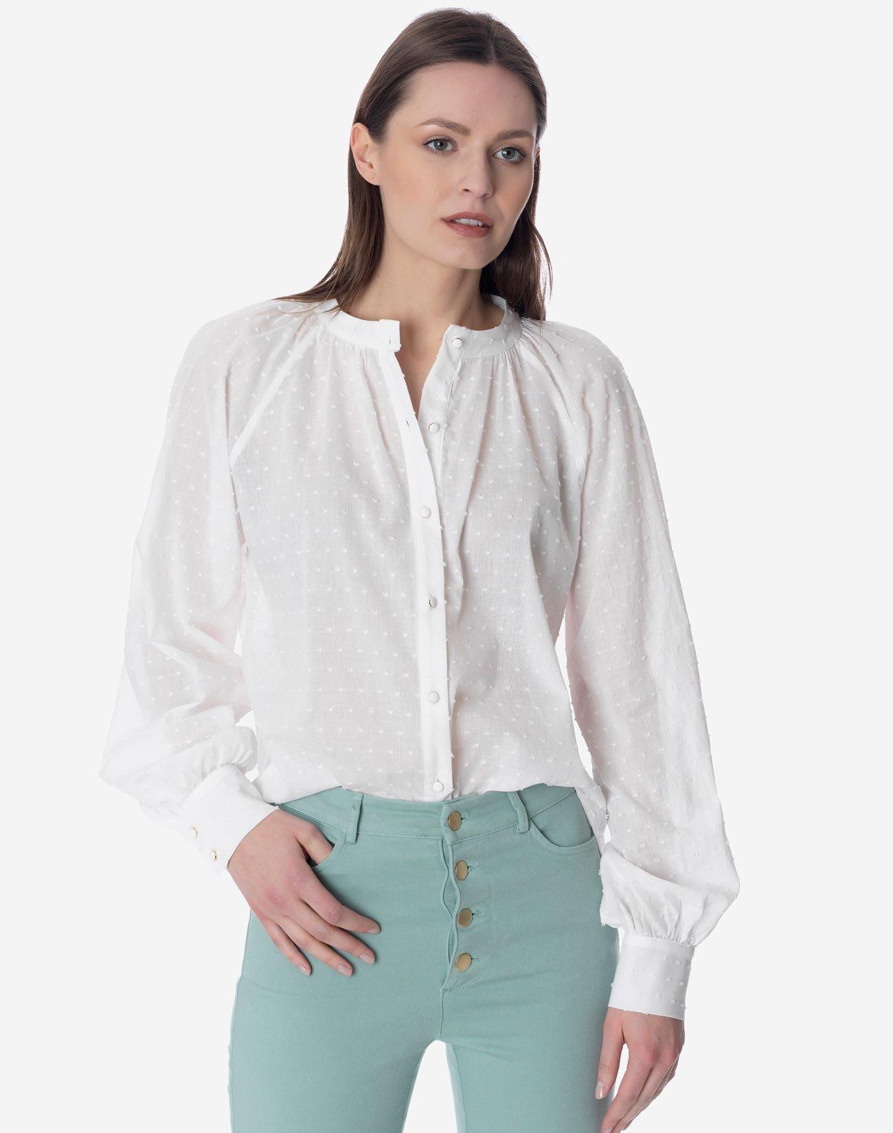 Plumetis shirt