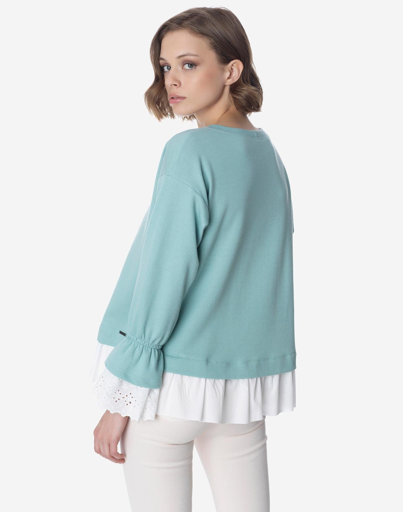 Μπλούζα φούτερ σε συνδυασμό