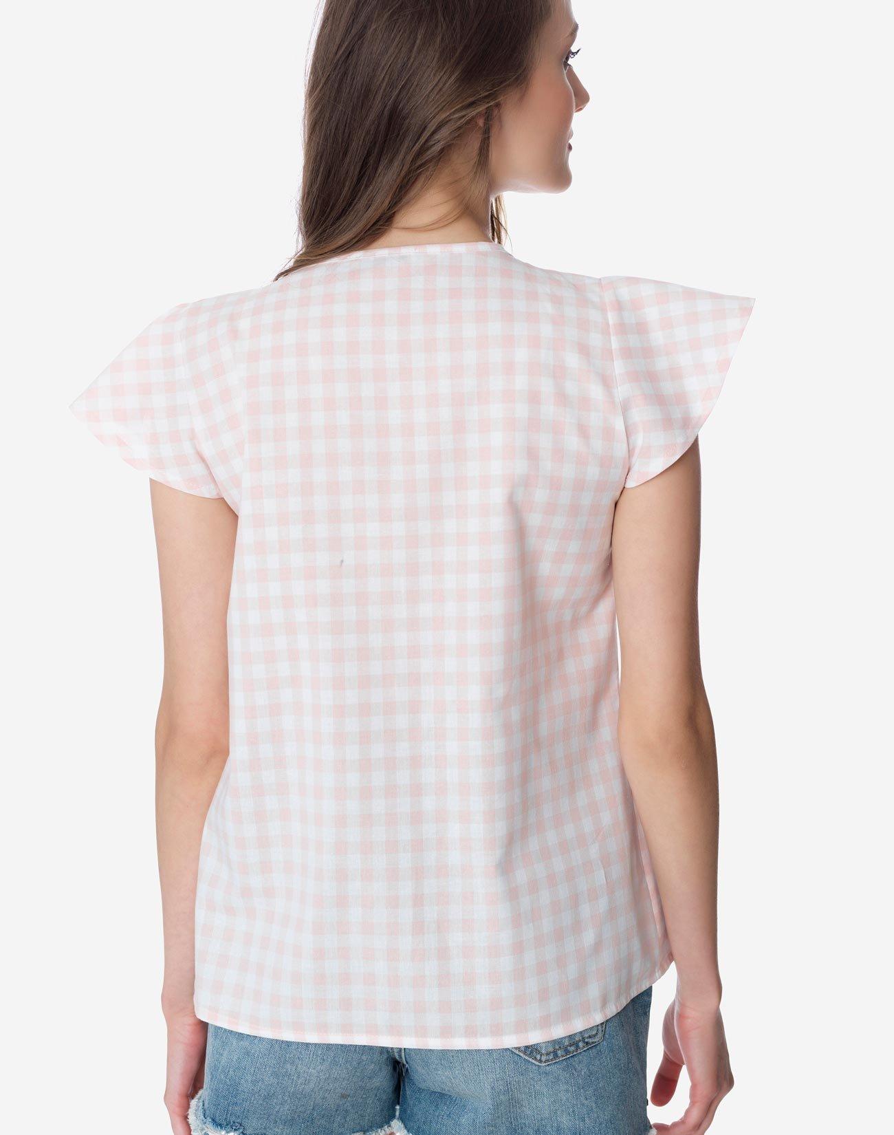 Μπλούζα με λεπτομέρεια δαντέλα
