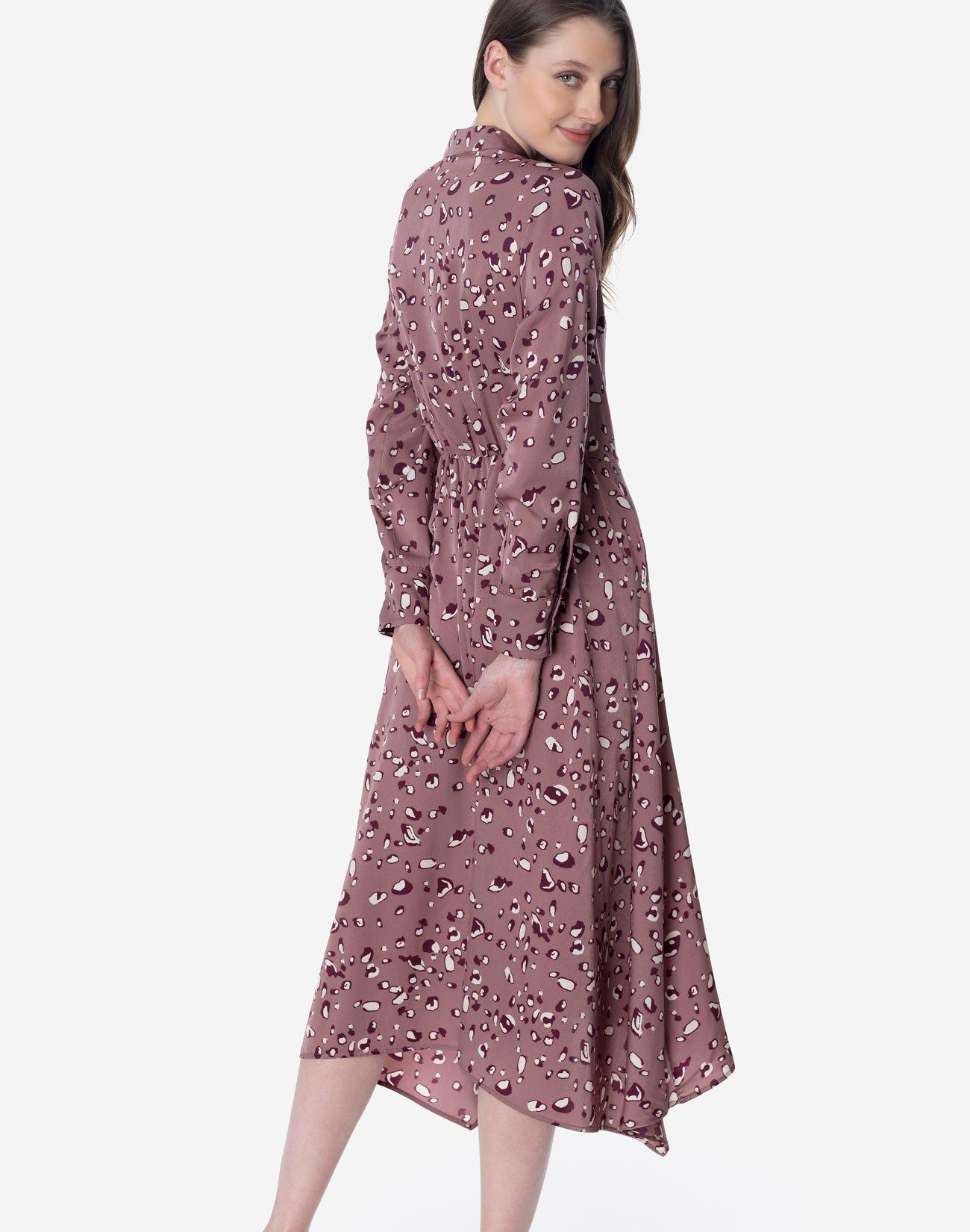 Εμπιμέ φόρεμα πουκαμίσα
