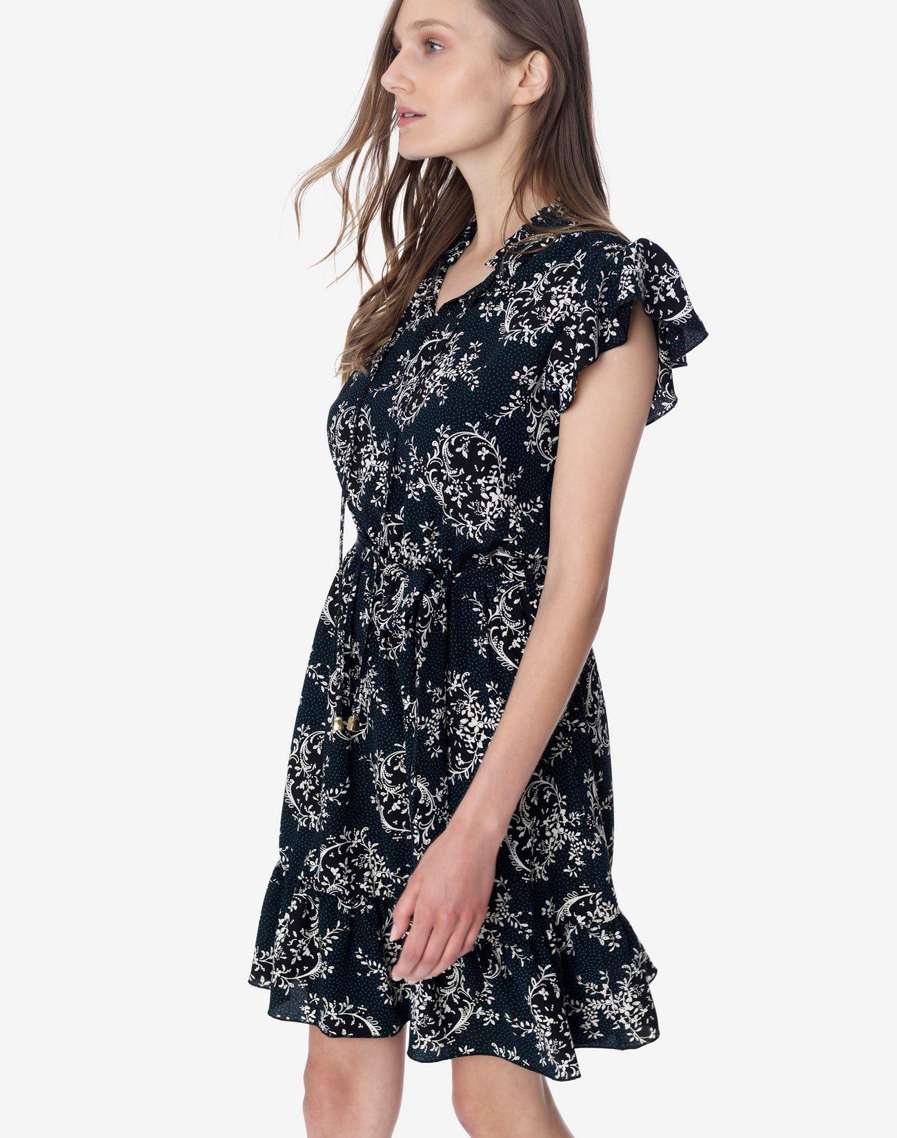 Μίνι εμπριμέ φόρεμα