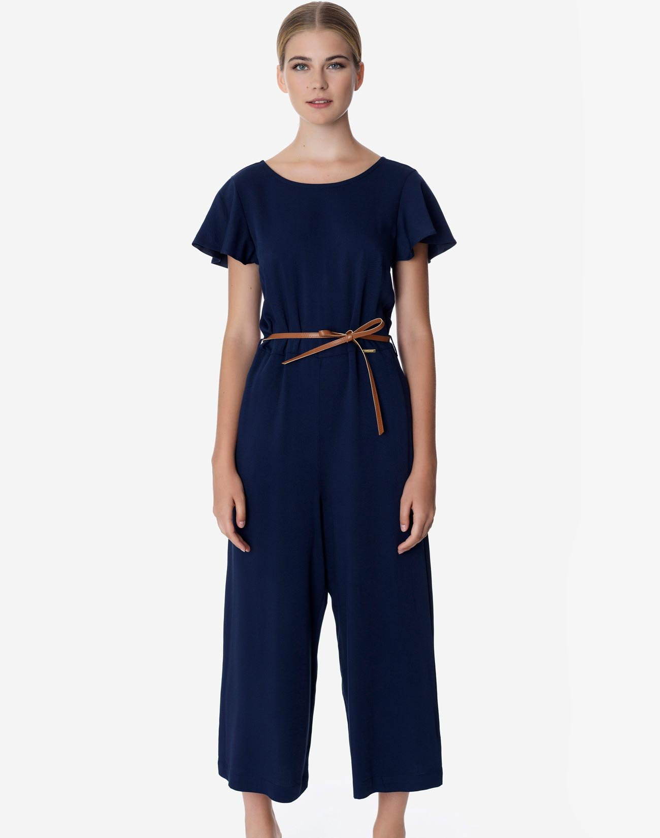Jumpsuit with ruffles
