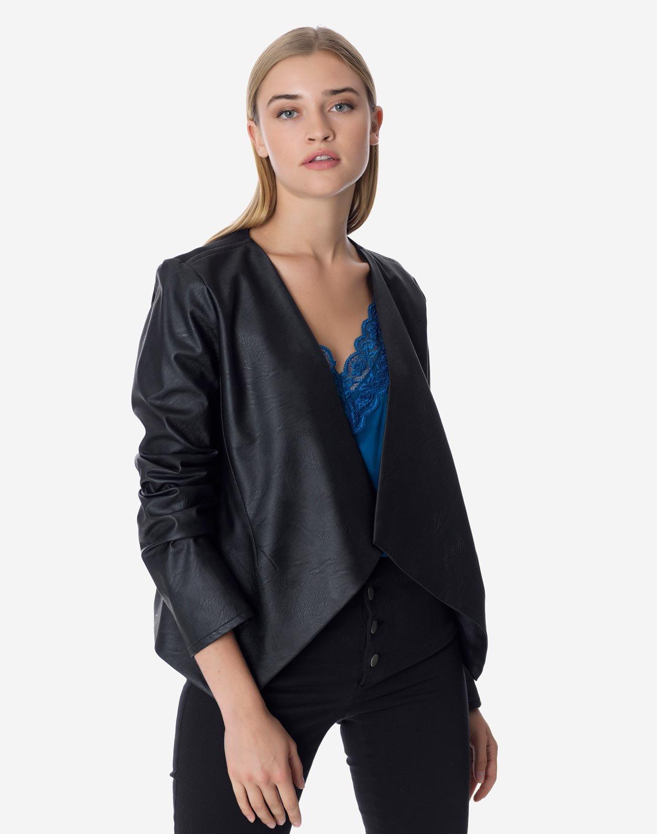 Contrast jacket