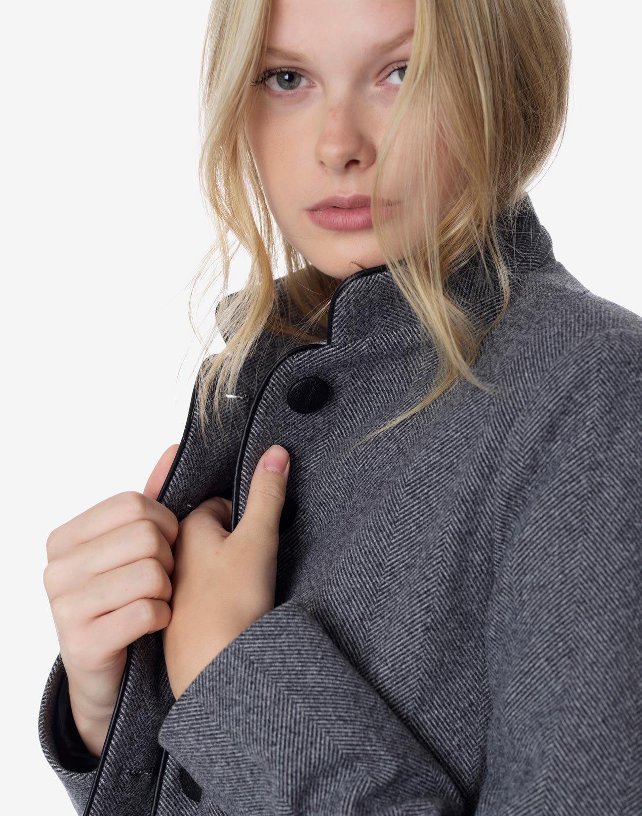Σακάκι με όρθιο γιακά