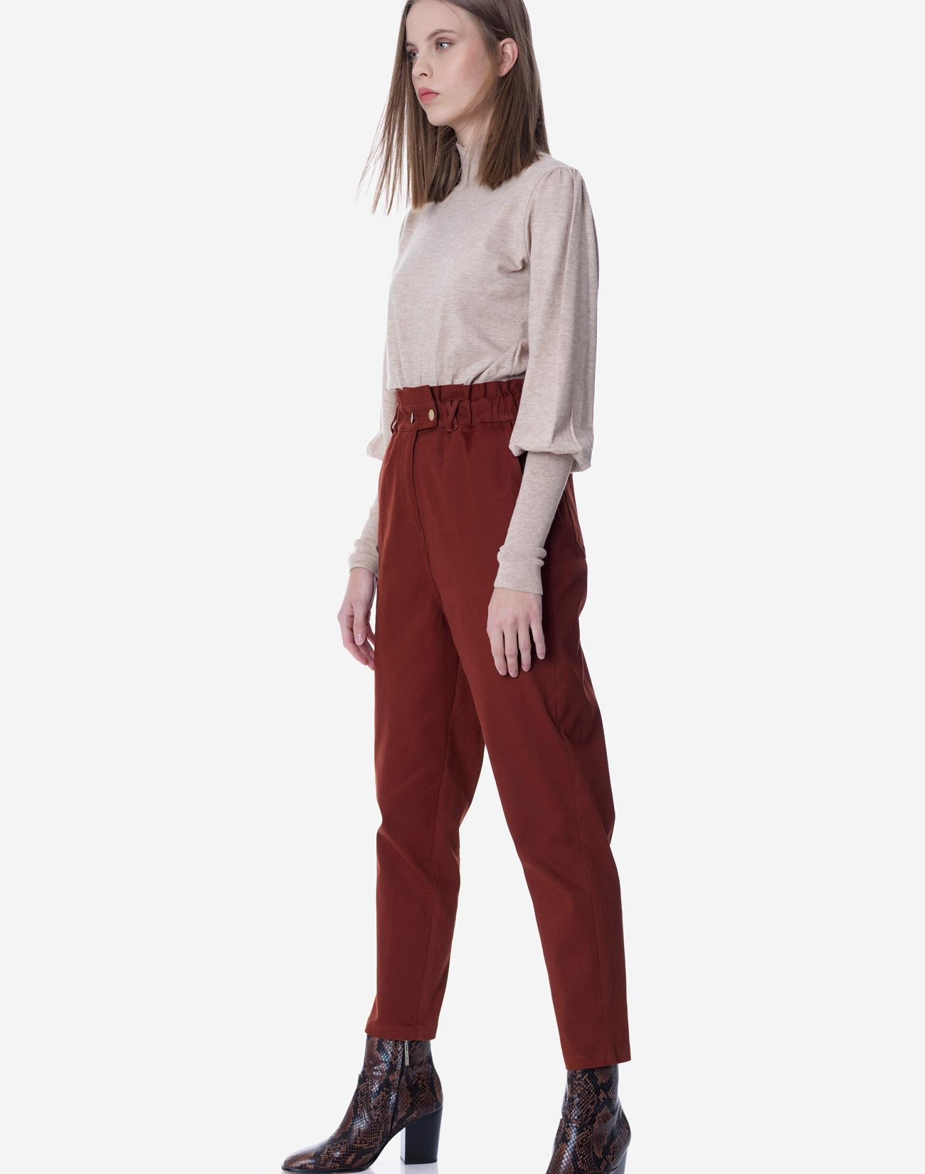 Ψηλόμεσο παντελόνι baggy