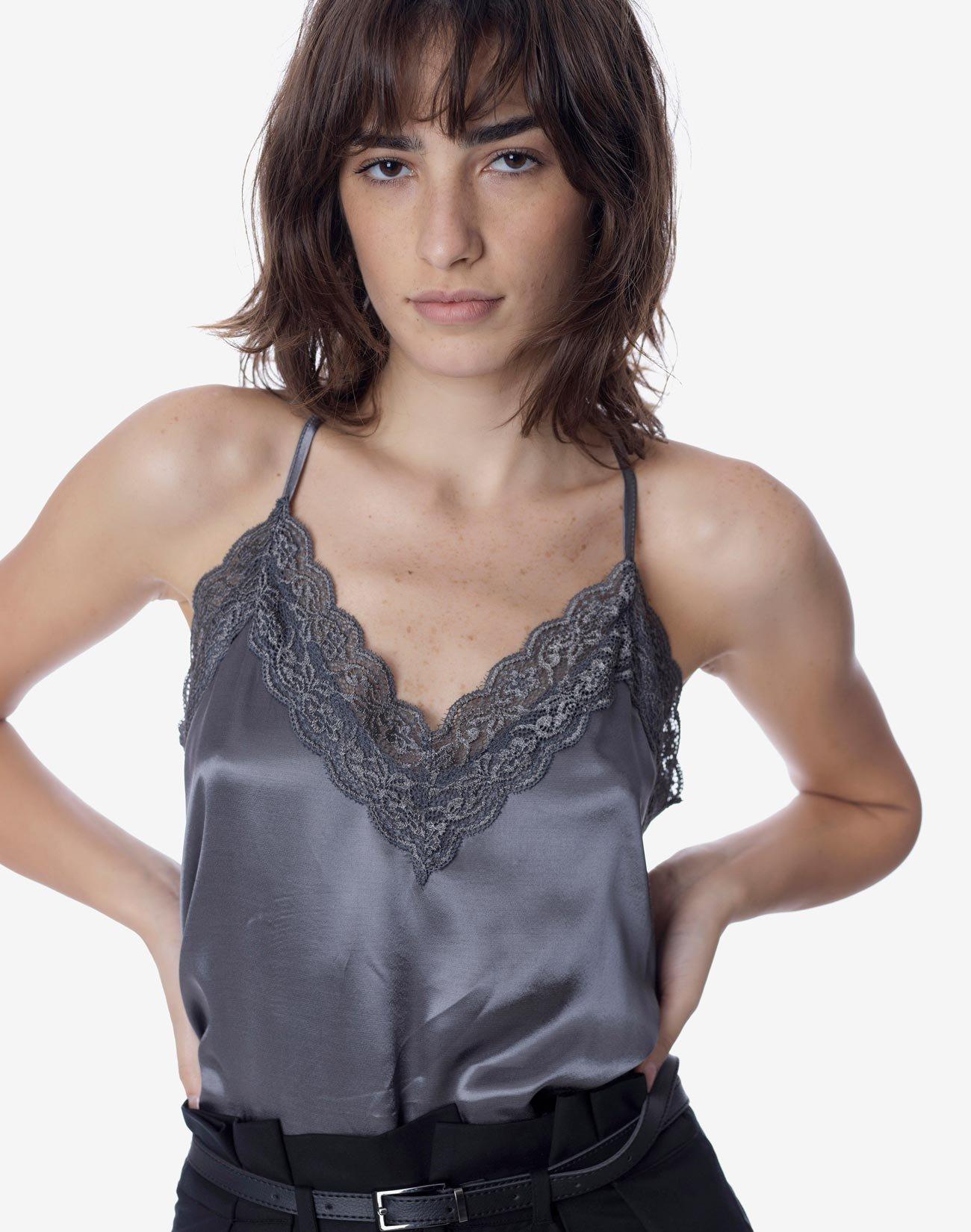 Τοπ σε στυλ lingerie