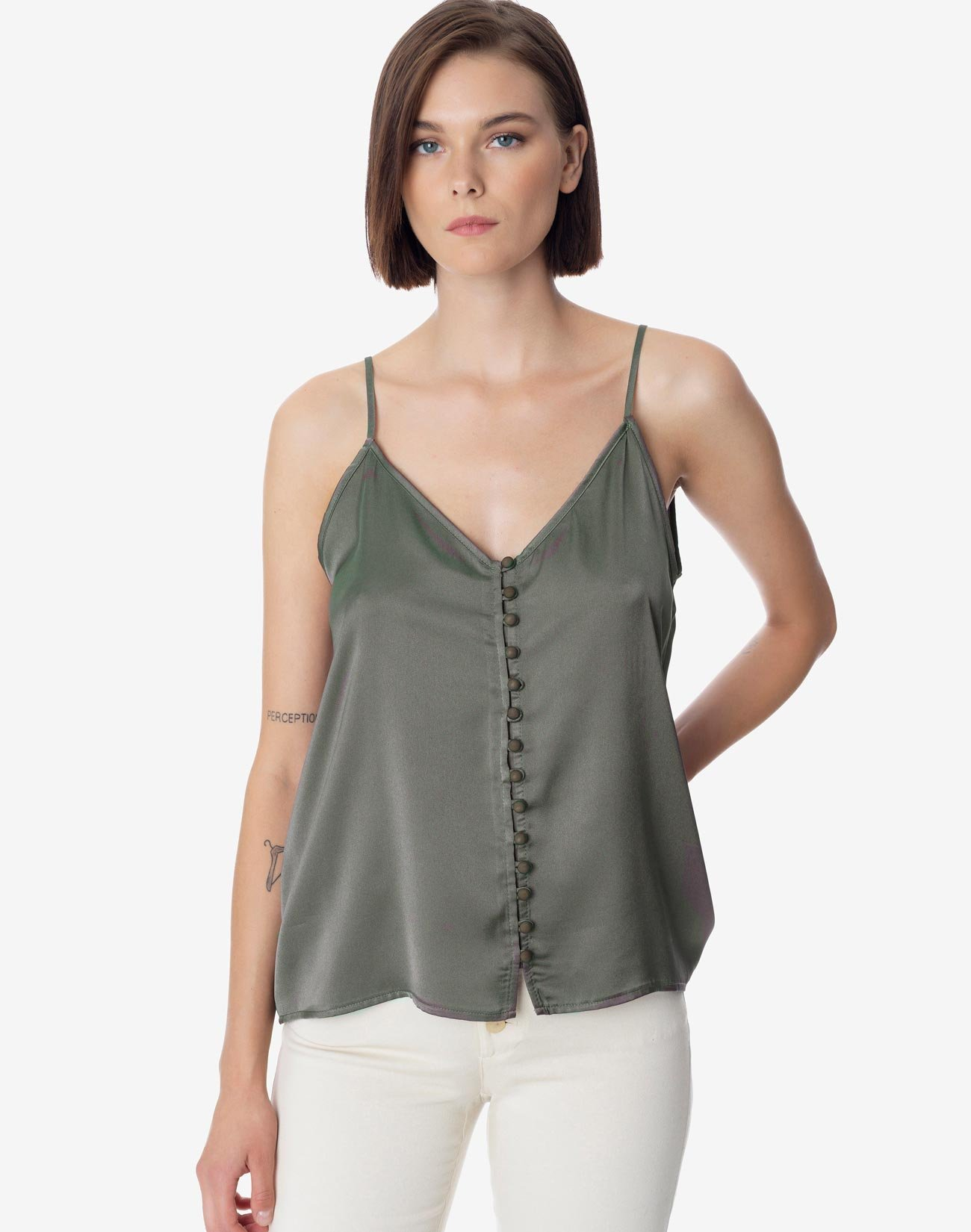 Top with buttons