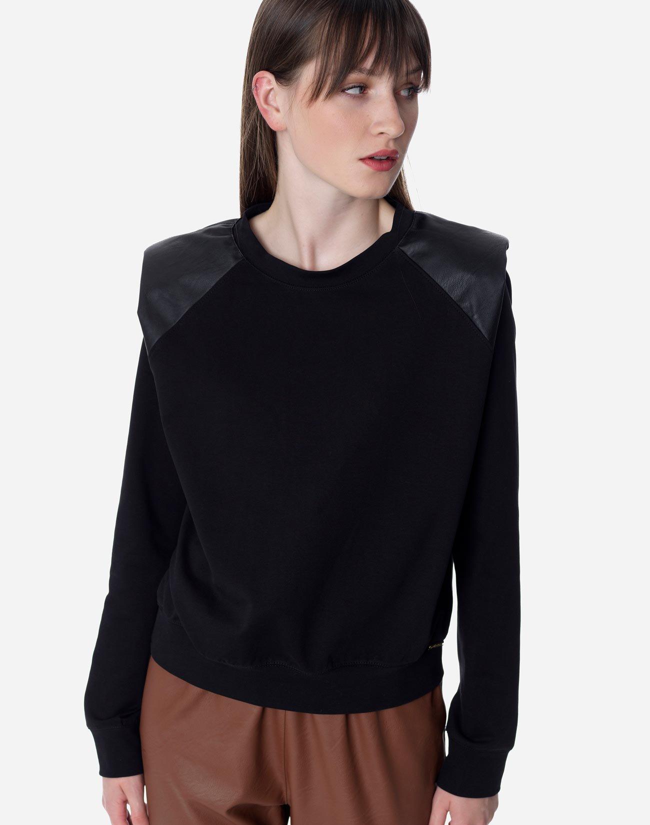 Μπλούζα φούτερ με βάτες