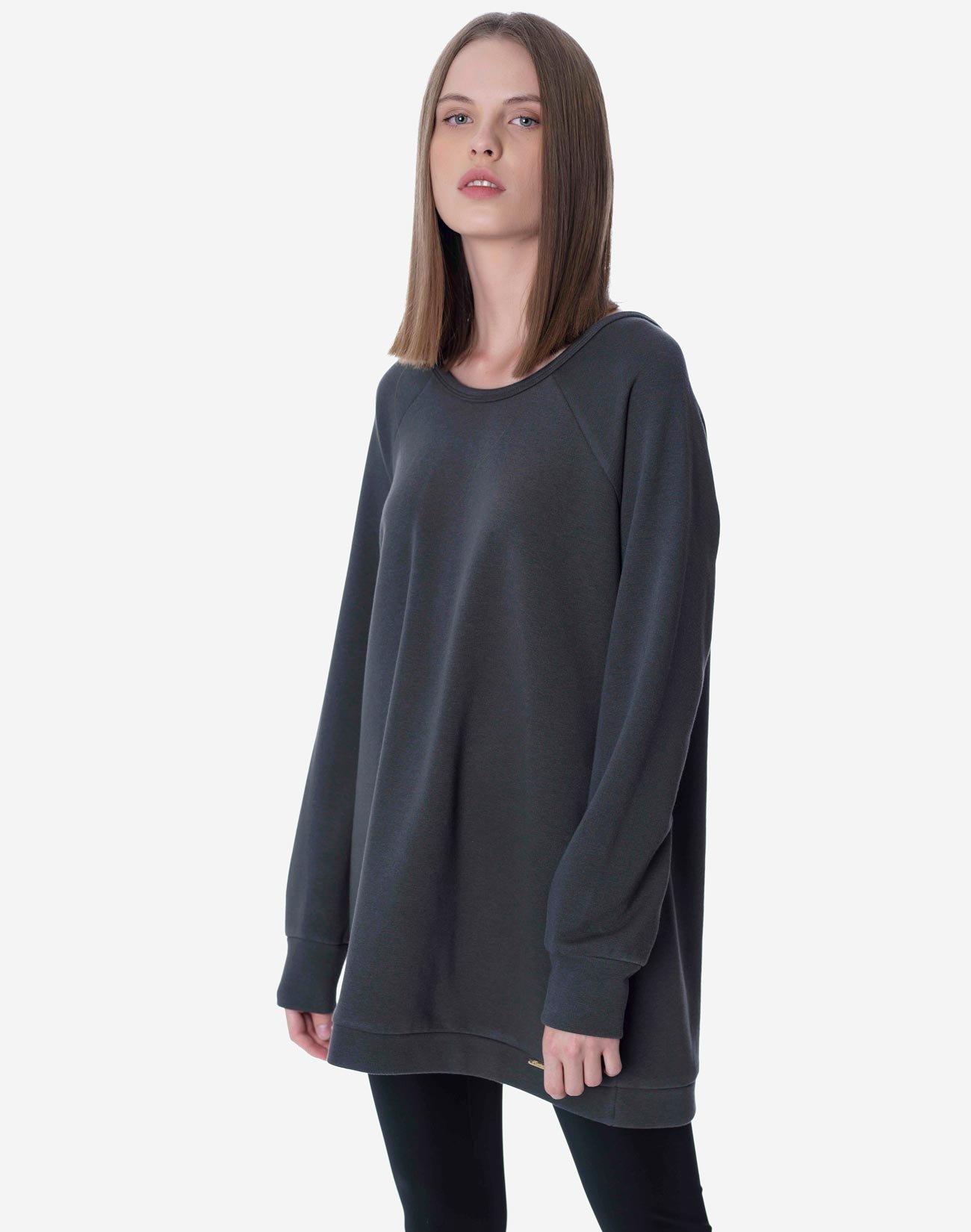 Sweatshirt with bows