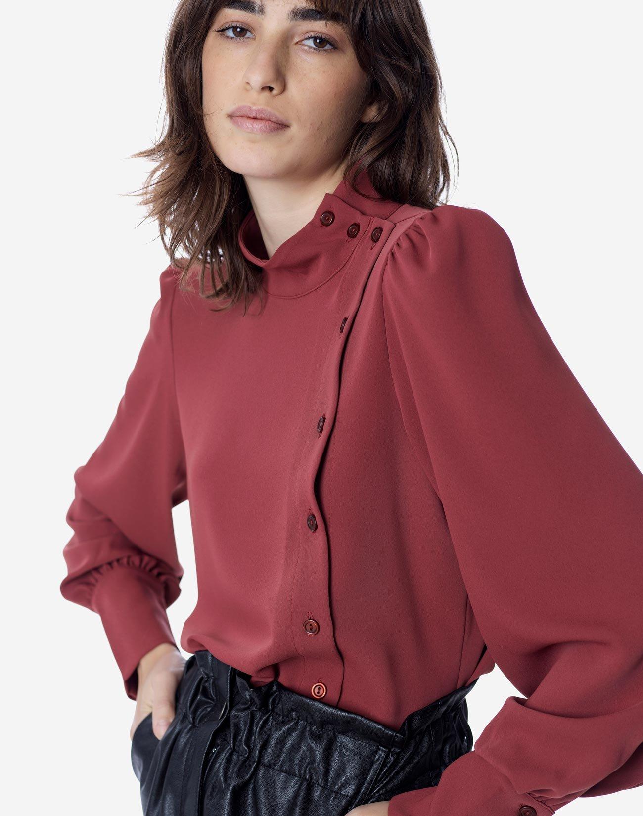 Μπλούζα με κουμπιά