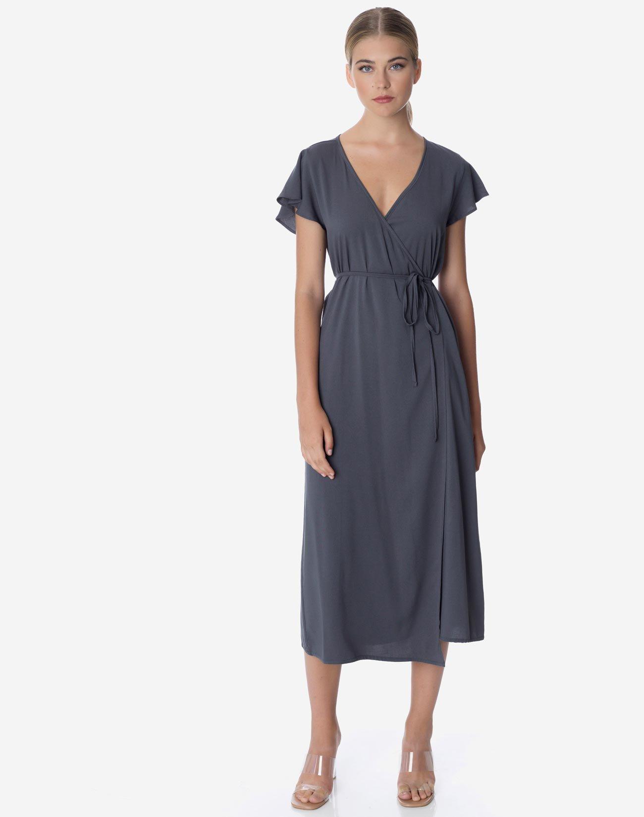 Μίντι κρουαζέ φόρεμα