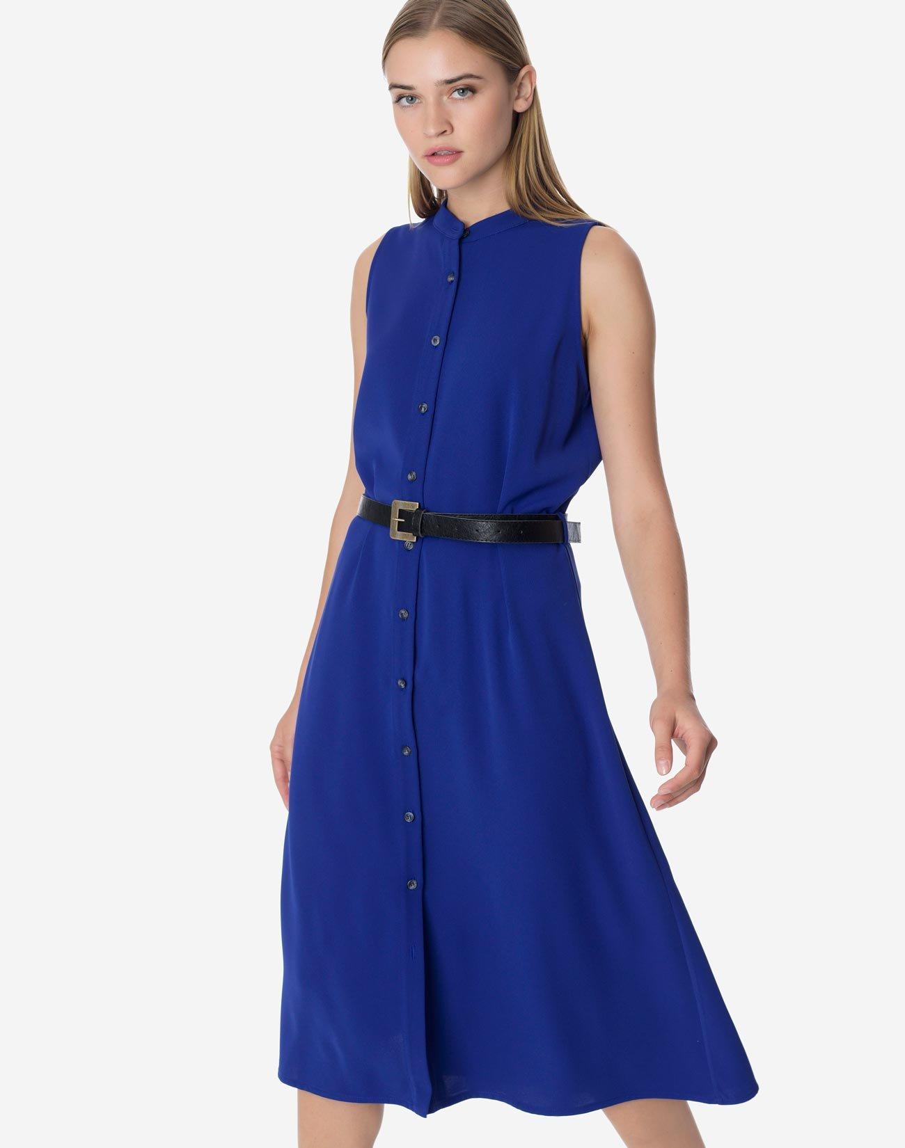 Μίντι σεμιζιέ φόρεμα