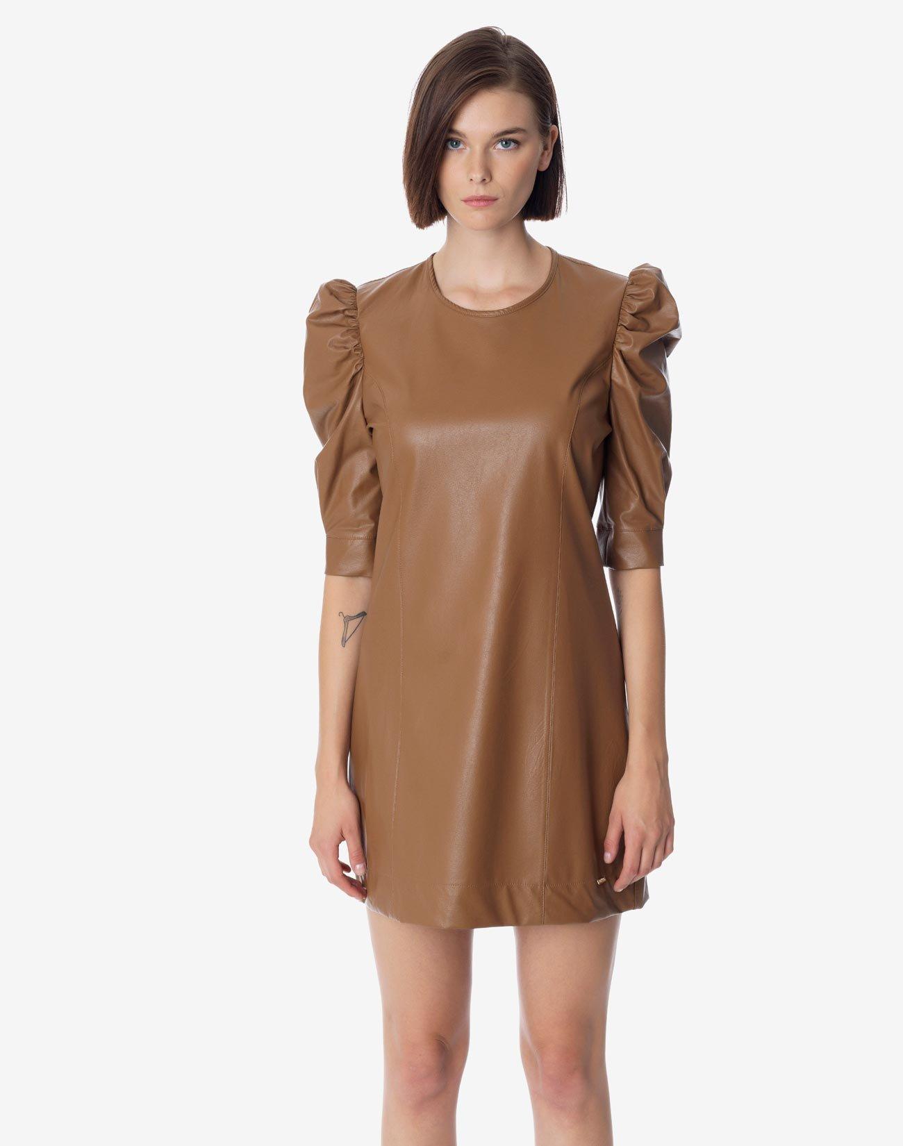 Μίνι φόρεμα δερματίνης