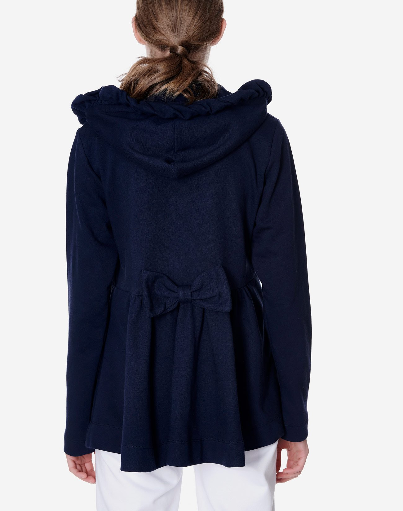 Hoodie with bow