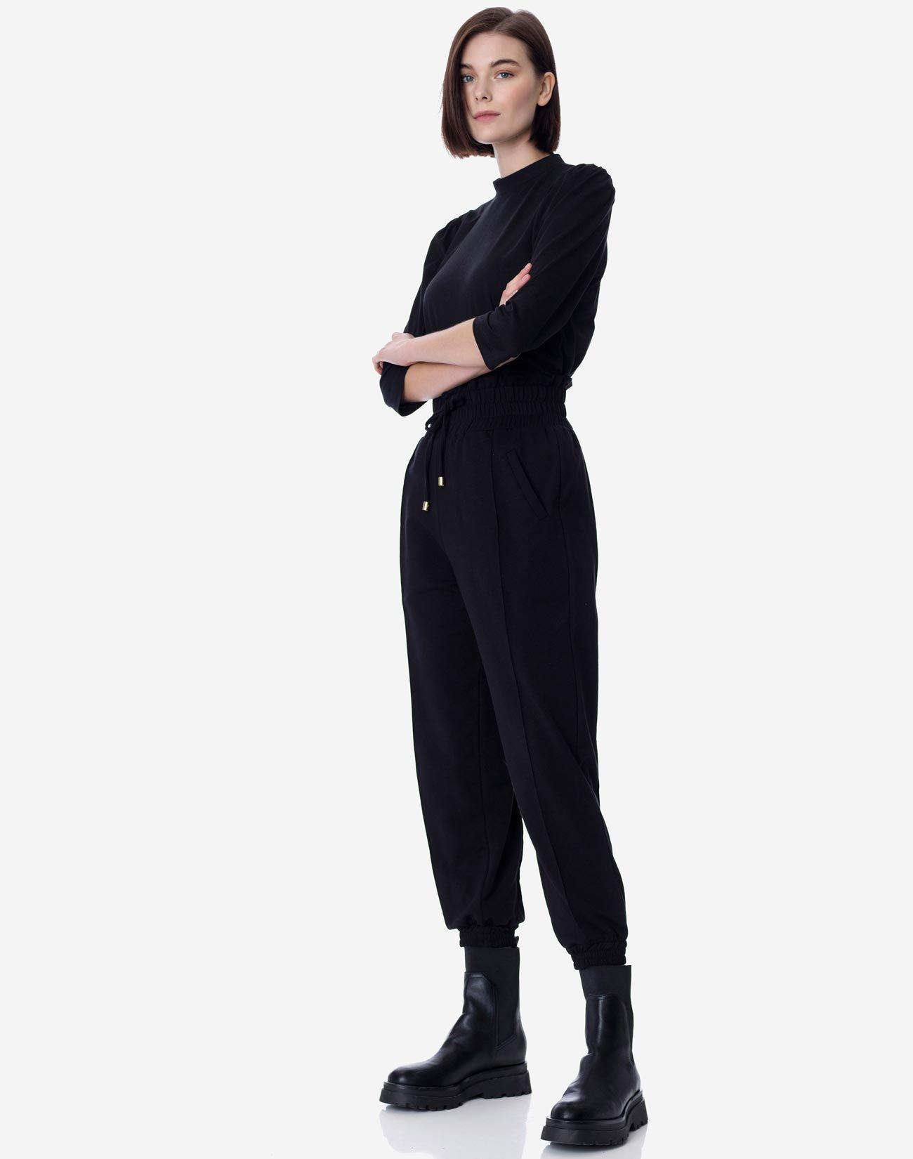 Παντελόνι jogger από ύφασμα φούτερ