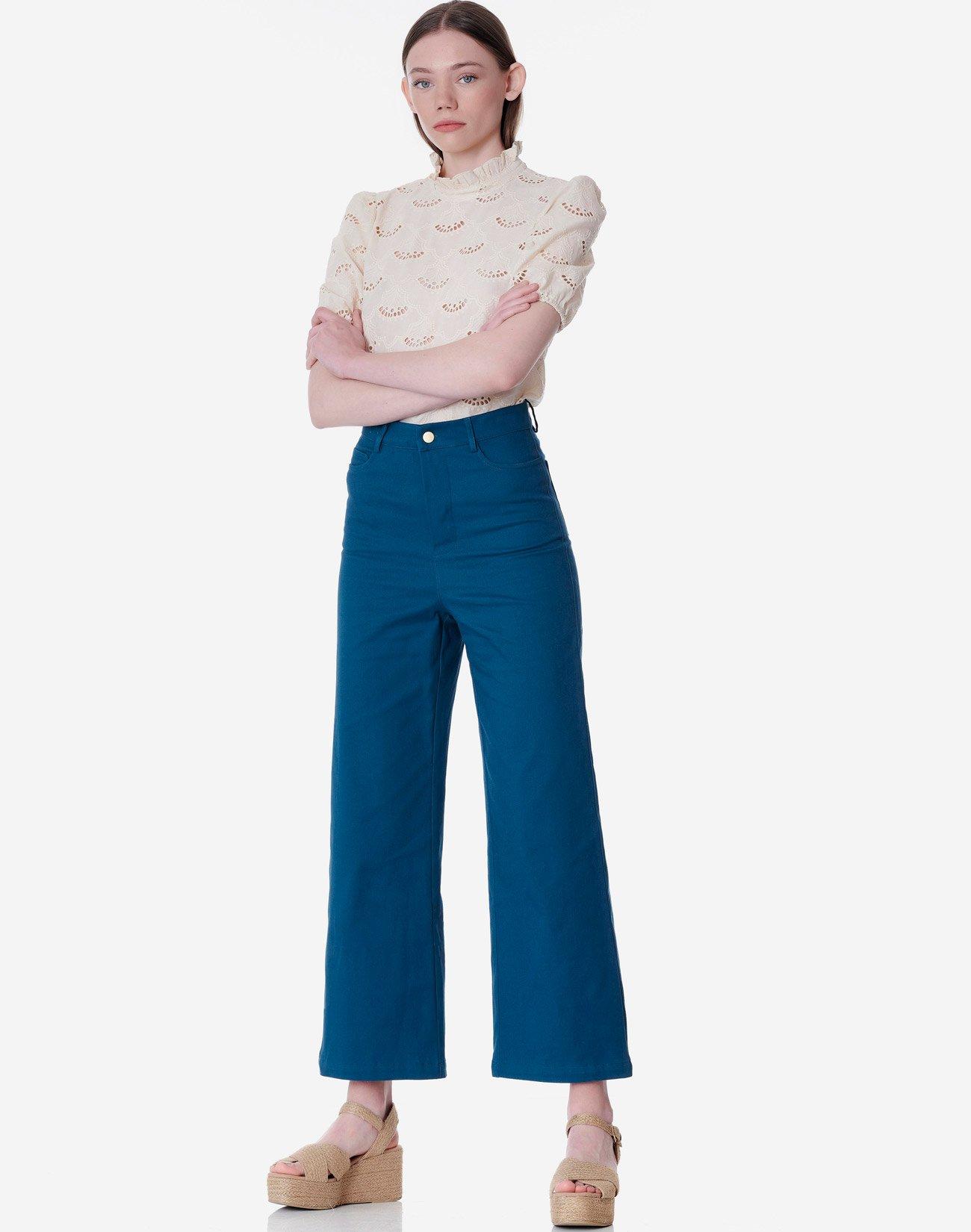 Παντελόνι Mom fit