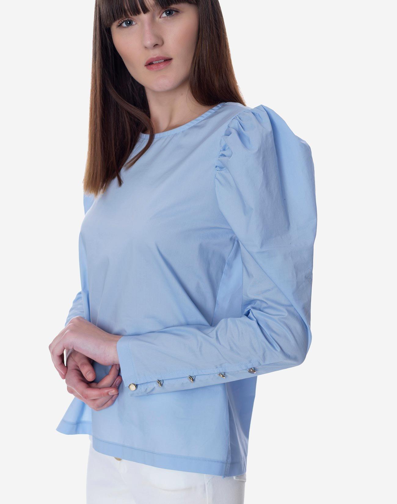 Μπλούζα με φουσκωτό ώμο