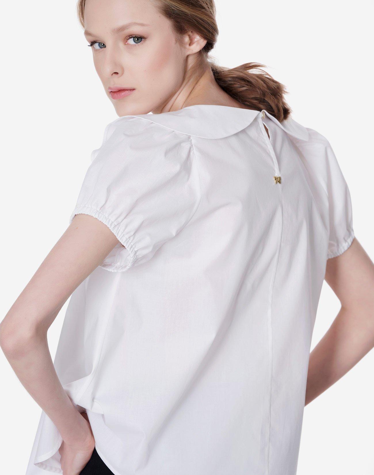 Μπλούζα με βολάν