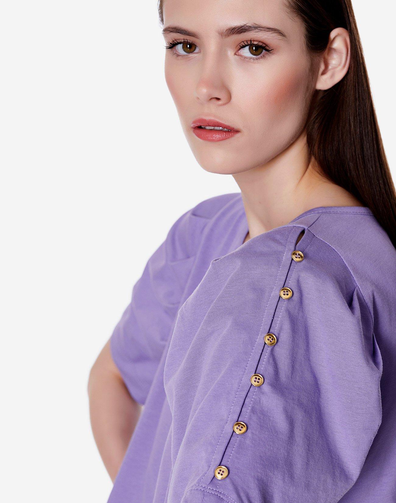 Μπλούζα οργανικό βαμβάκι με κουμπιά