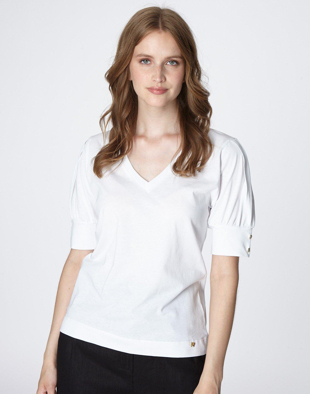 Μπλούζα με λεπτομέρεια κουμπιά