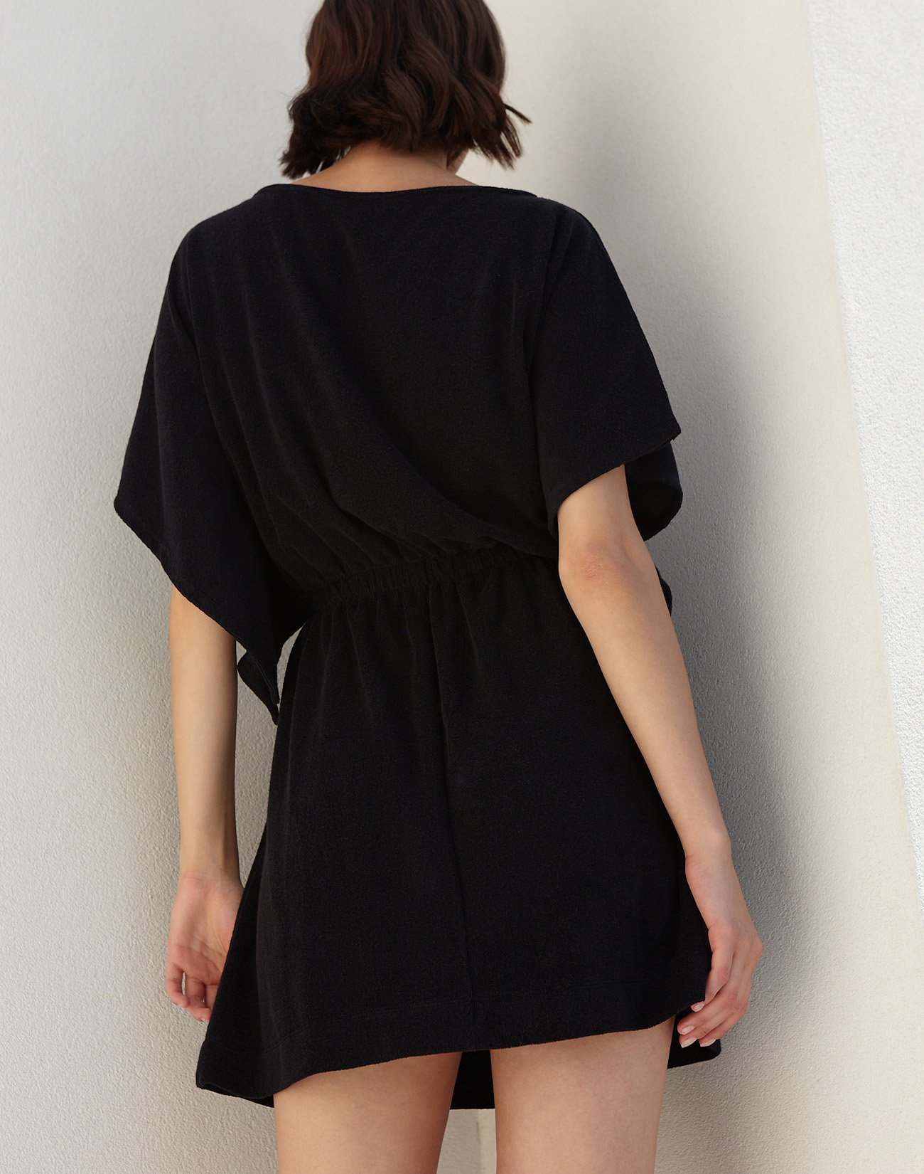 Μίνι φόρεμα πετσέτα με δέσιμο