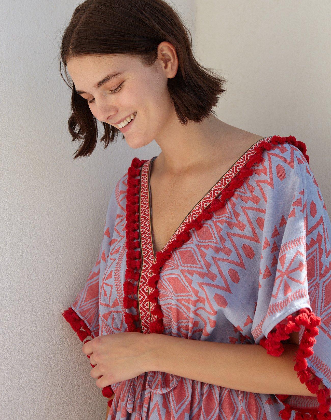 Maxi kaftan dress