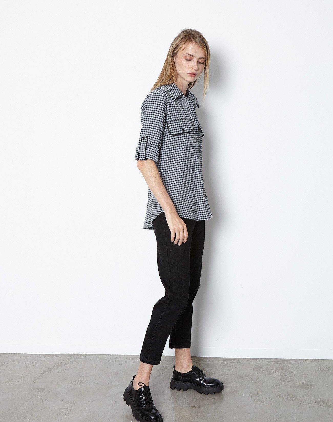 Καρό πουκάμισο με τσέπες