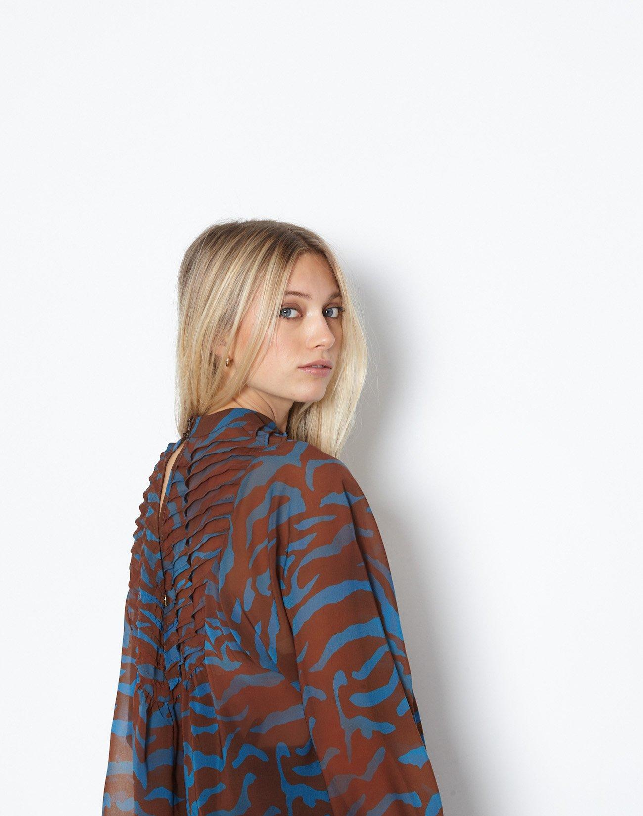 Animal print μπλούζα