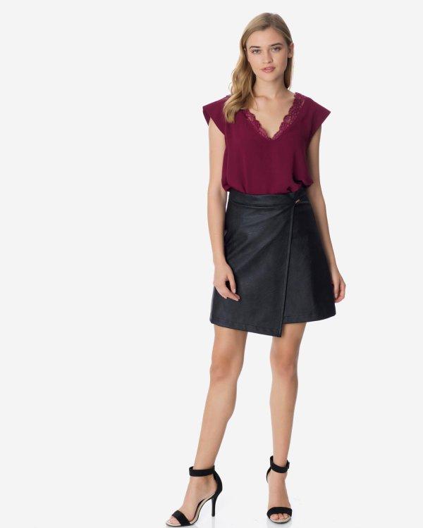 Μίνι φούστα δερματίνης