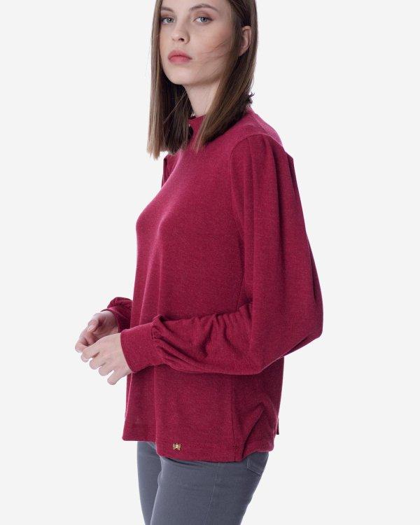 Μπλούζα με όρθιο γιακά