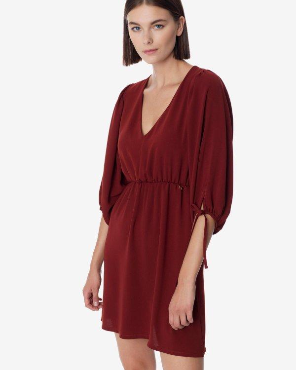 Μίνι φόρεμα με σούρα