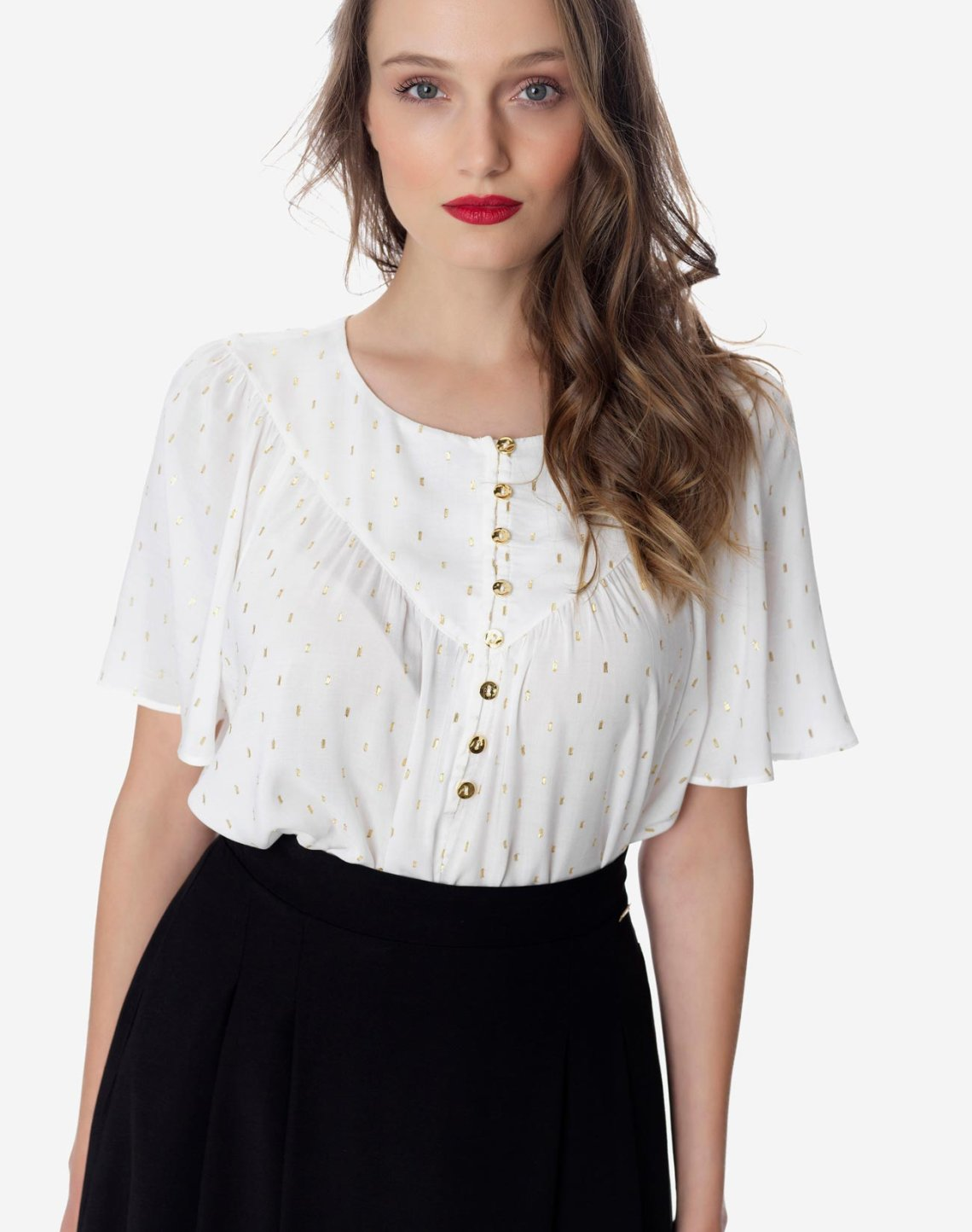 Top with gold detail