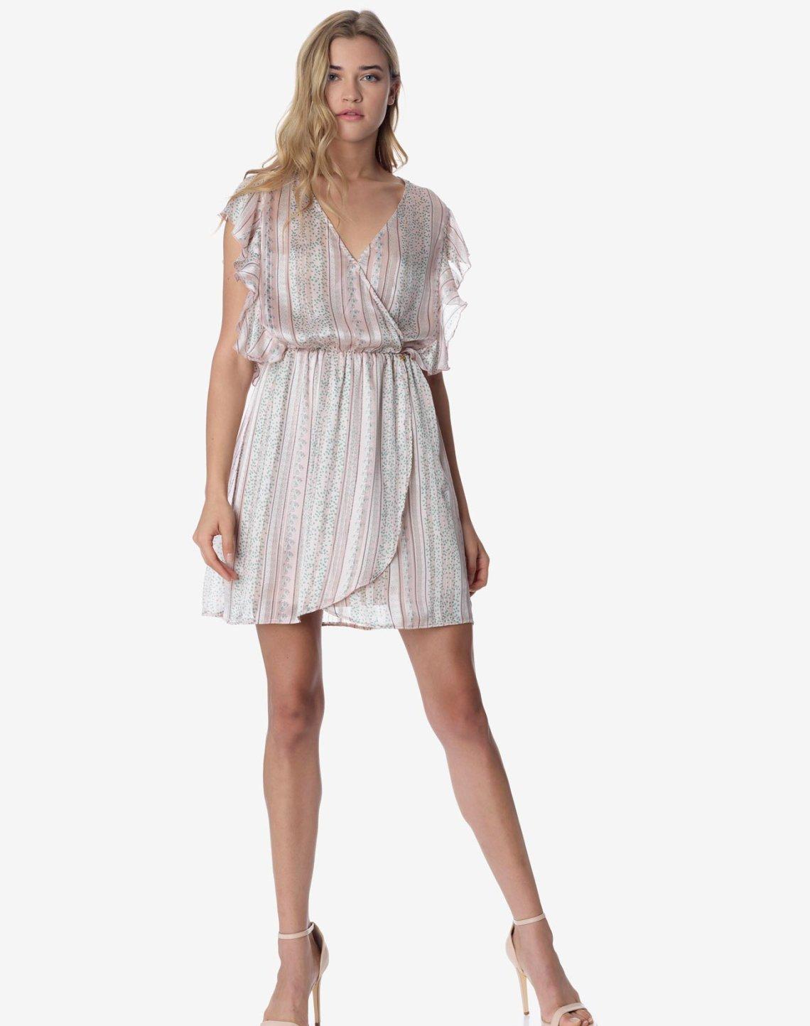 Printed mini dress