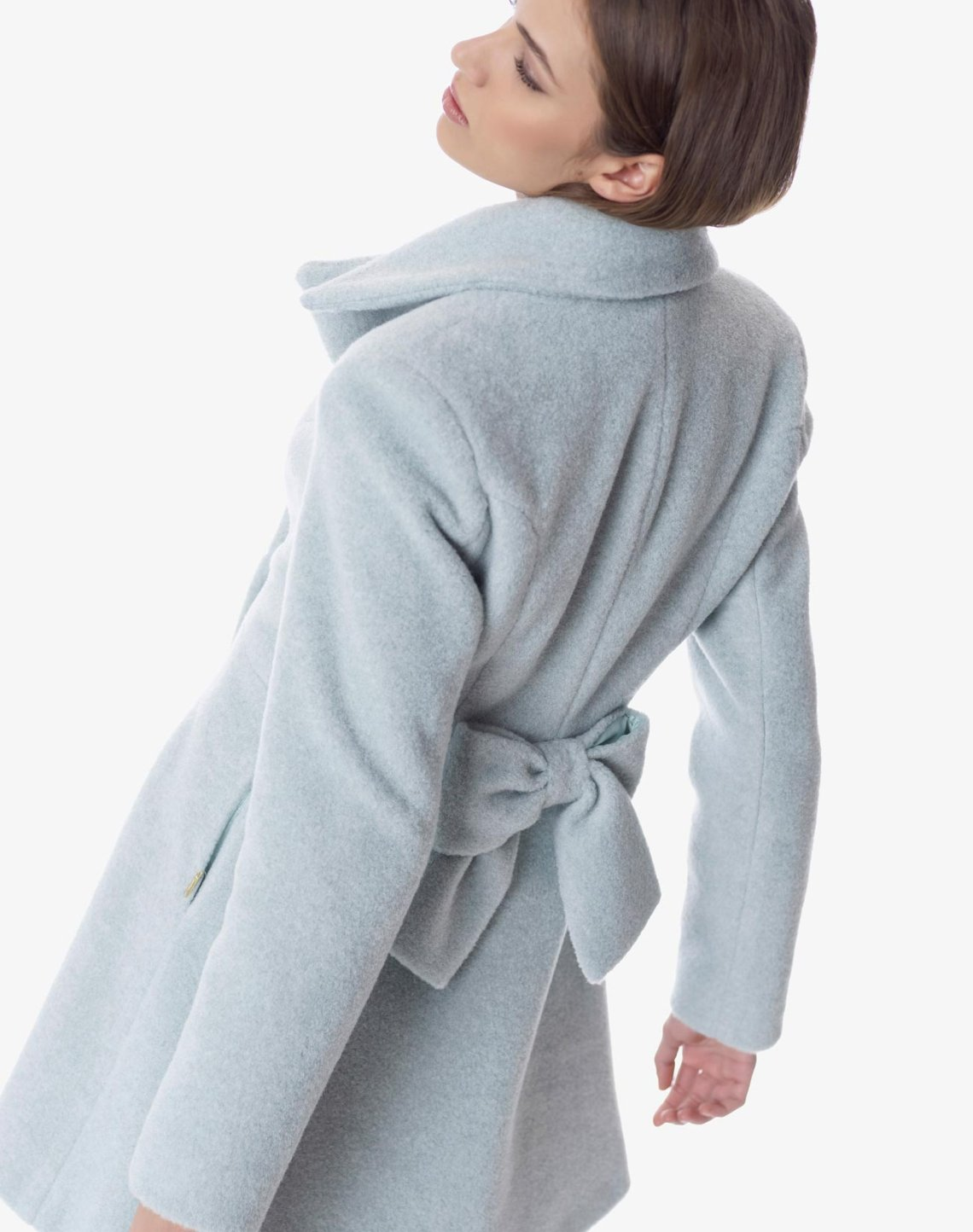 Παλτό με φιόγκο