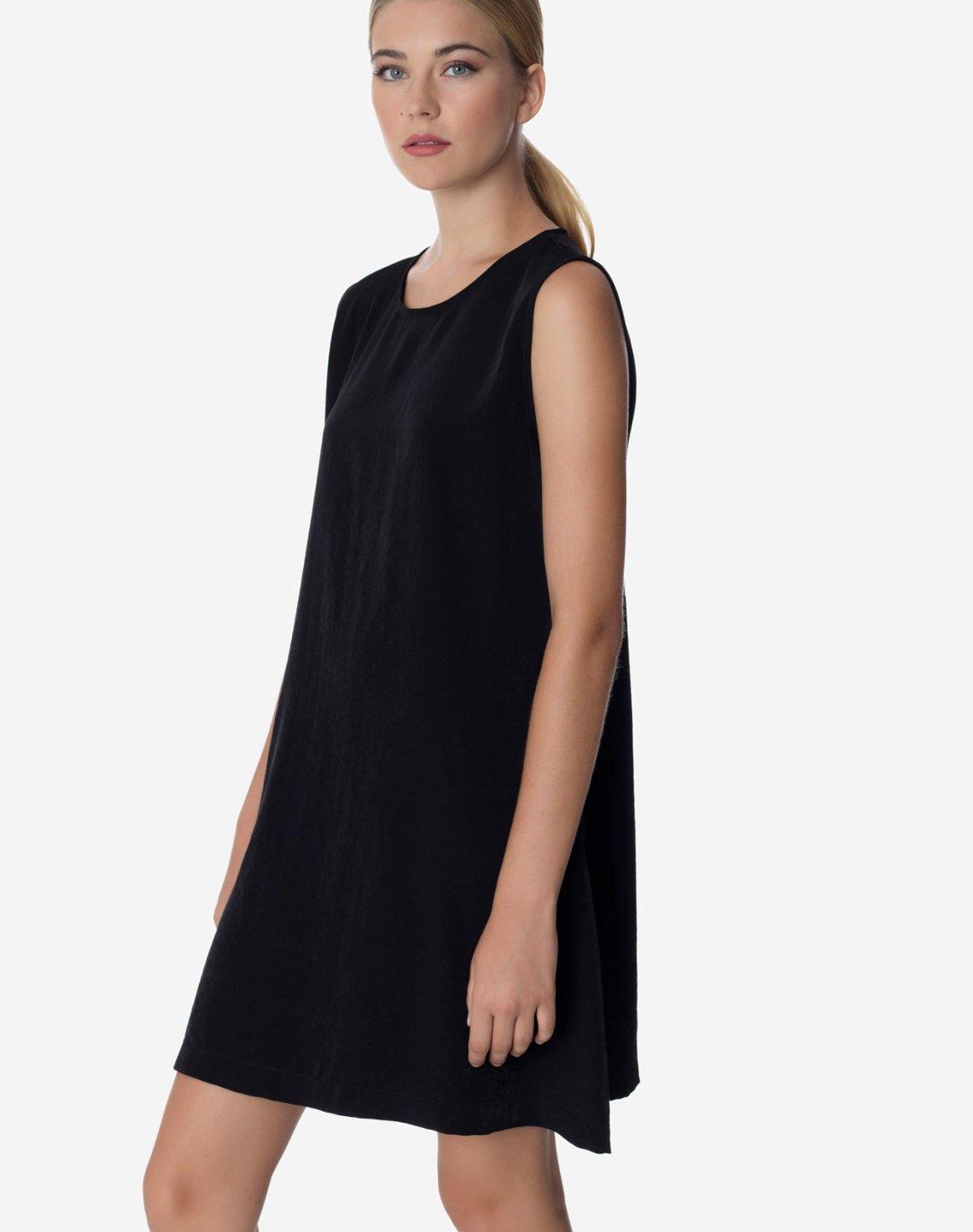 Μίνι αμάνικο φόρεμα