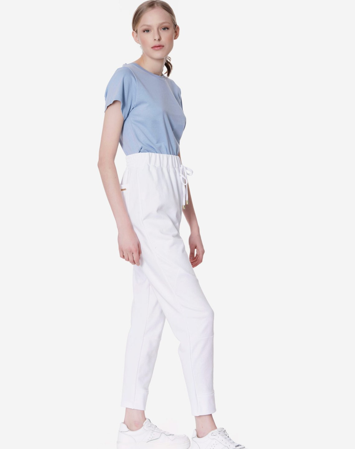 Sweatpants with seam detail