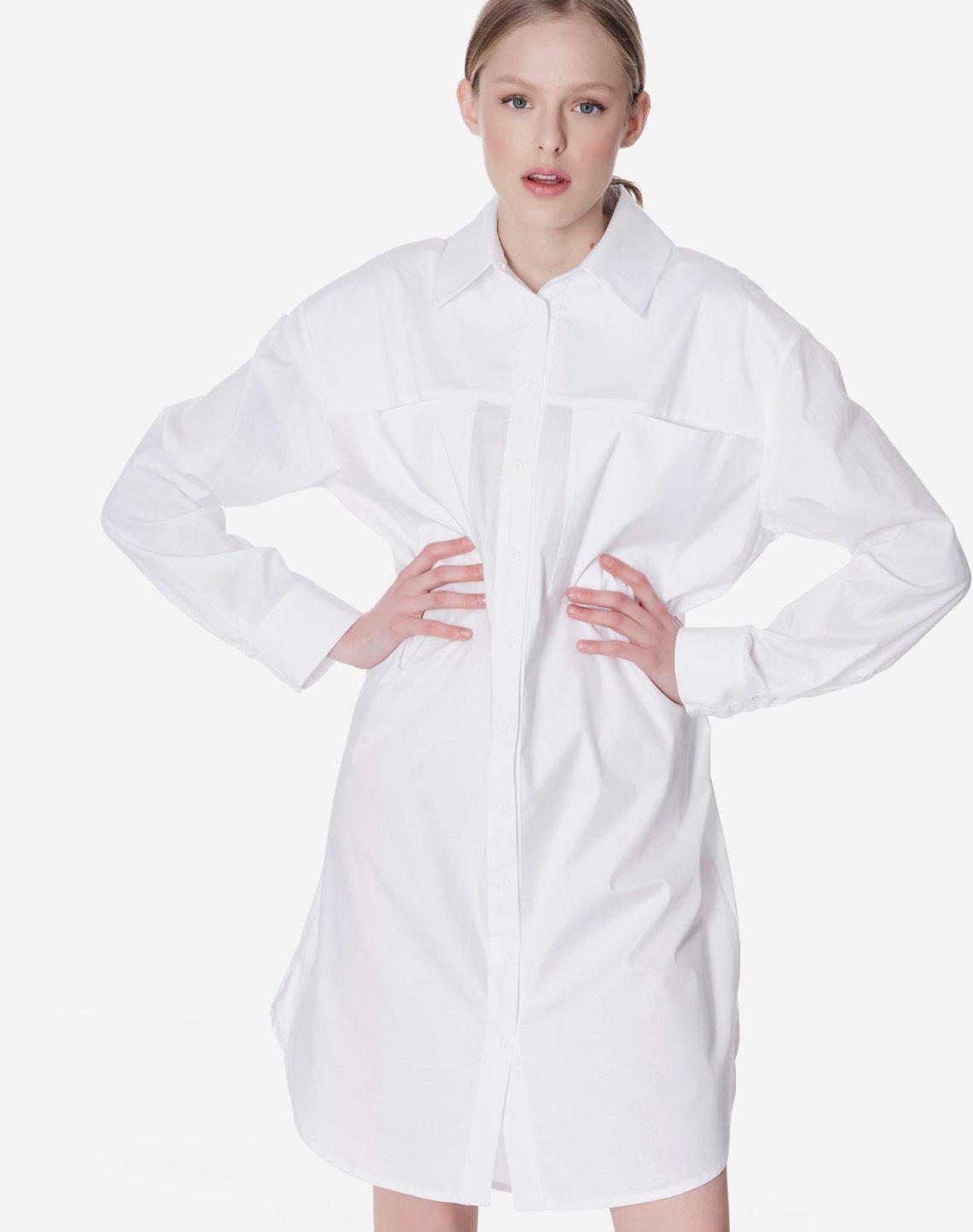 Oversized φόρεμα πουκαμίσα