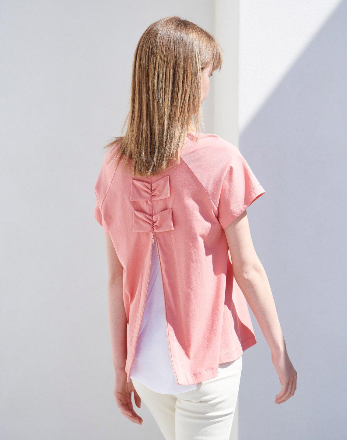 Μπλούζα σε συνδυασμό με φιόγκους