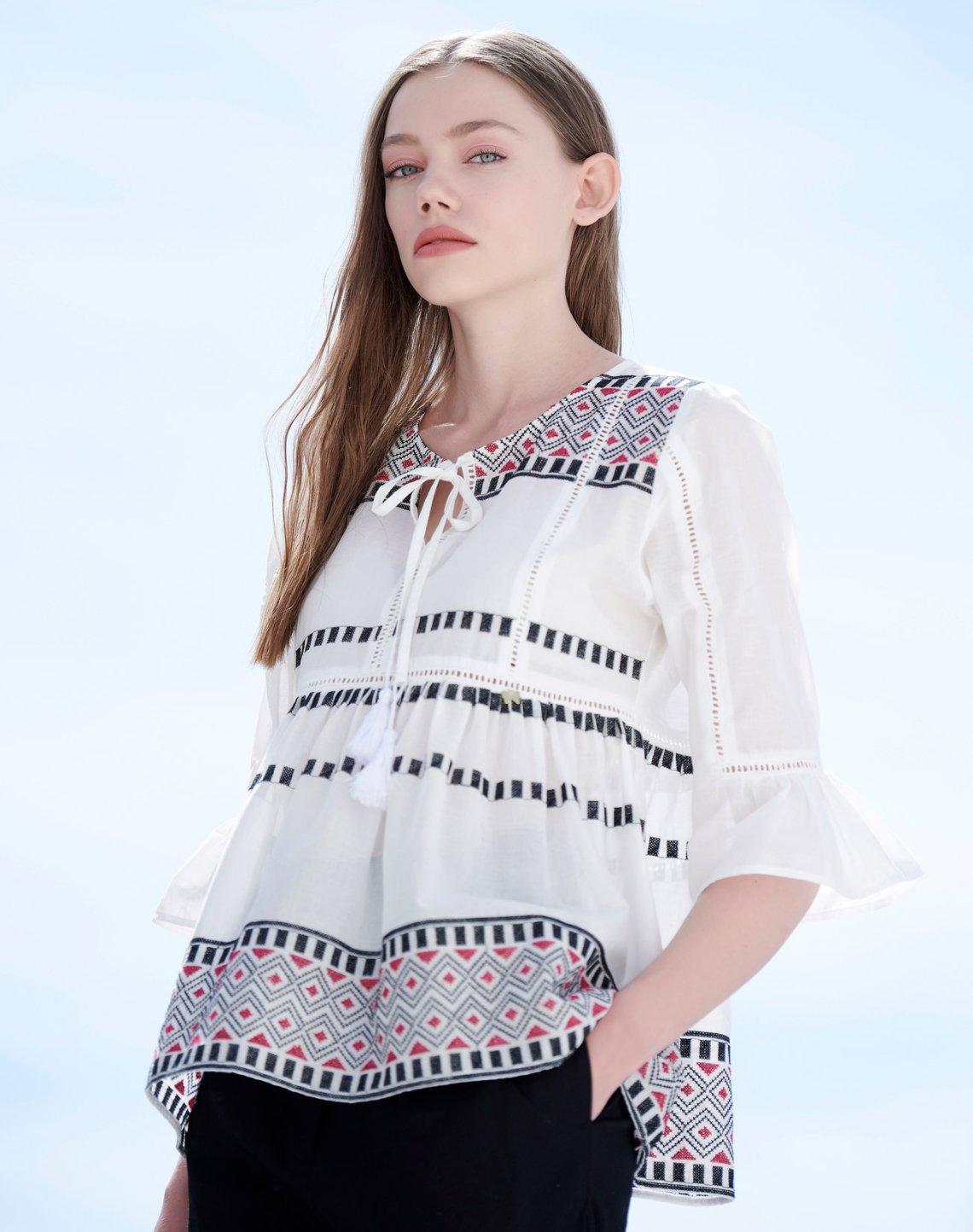 Boho style μπλούζα