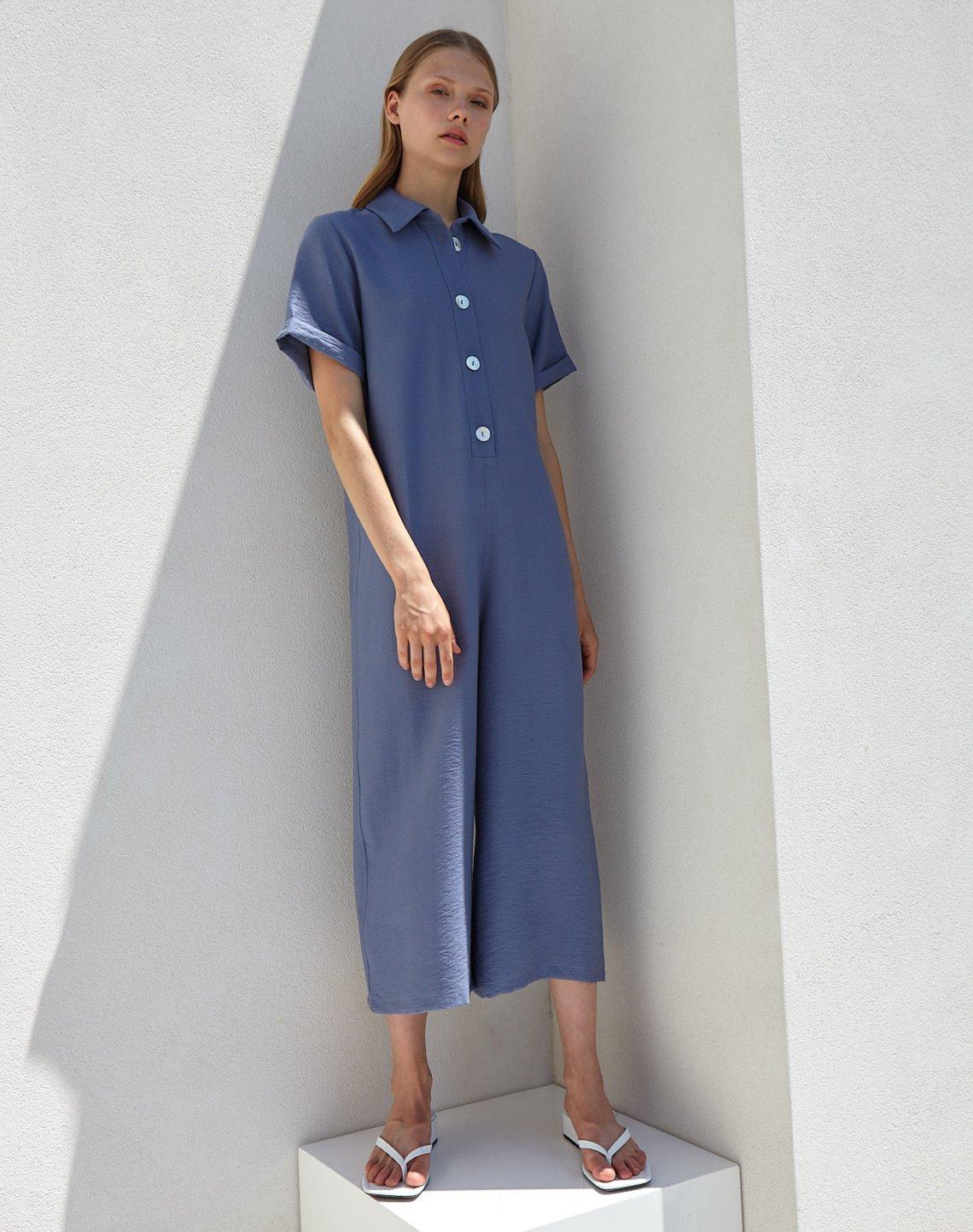 Ολόσωμη φόρμα με κουμπιά