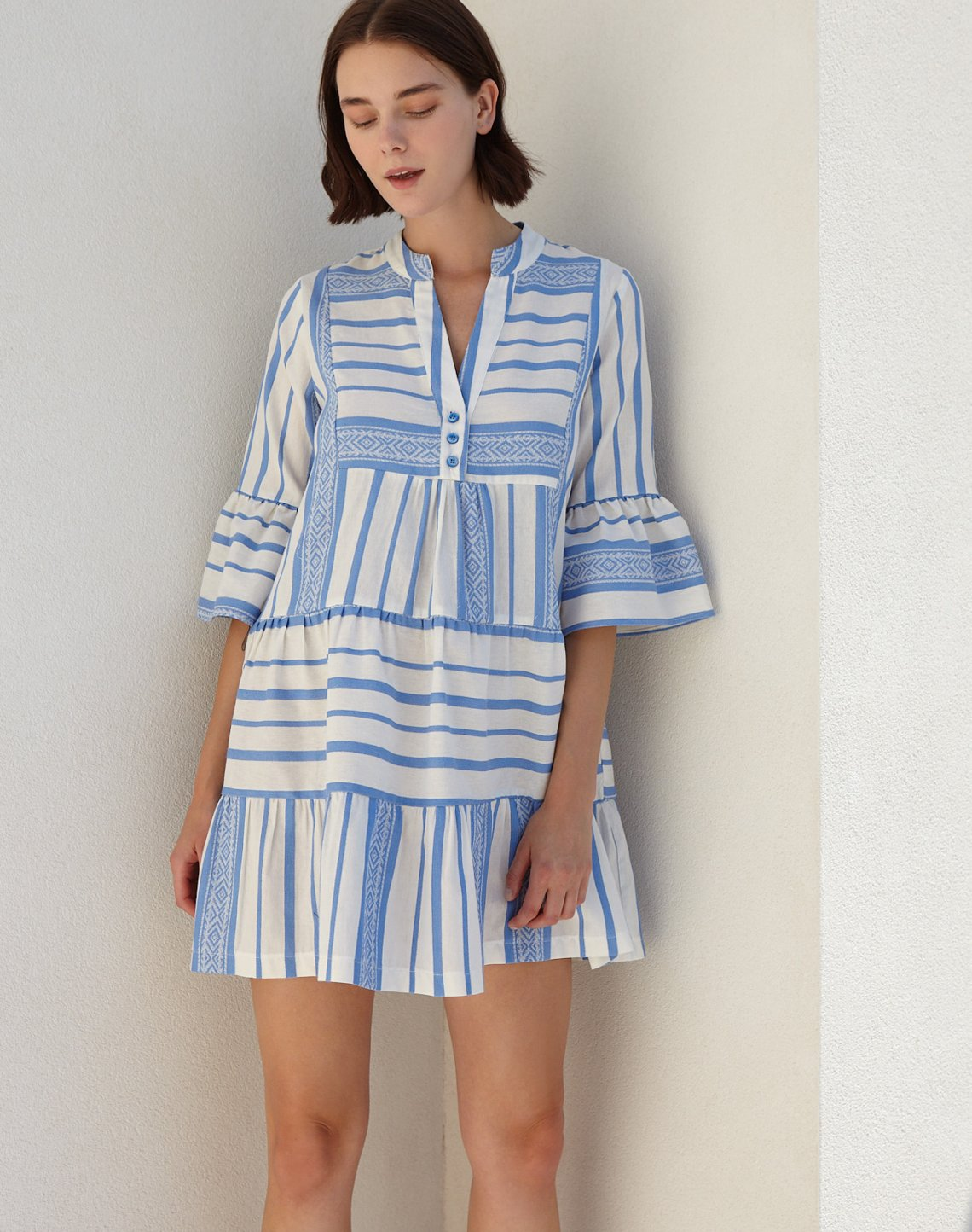 Mini kaftan dress