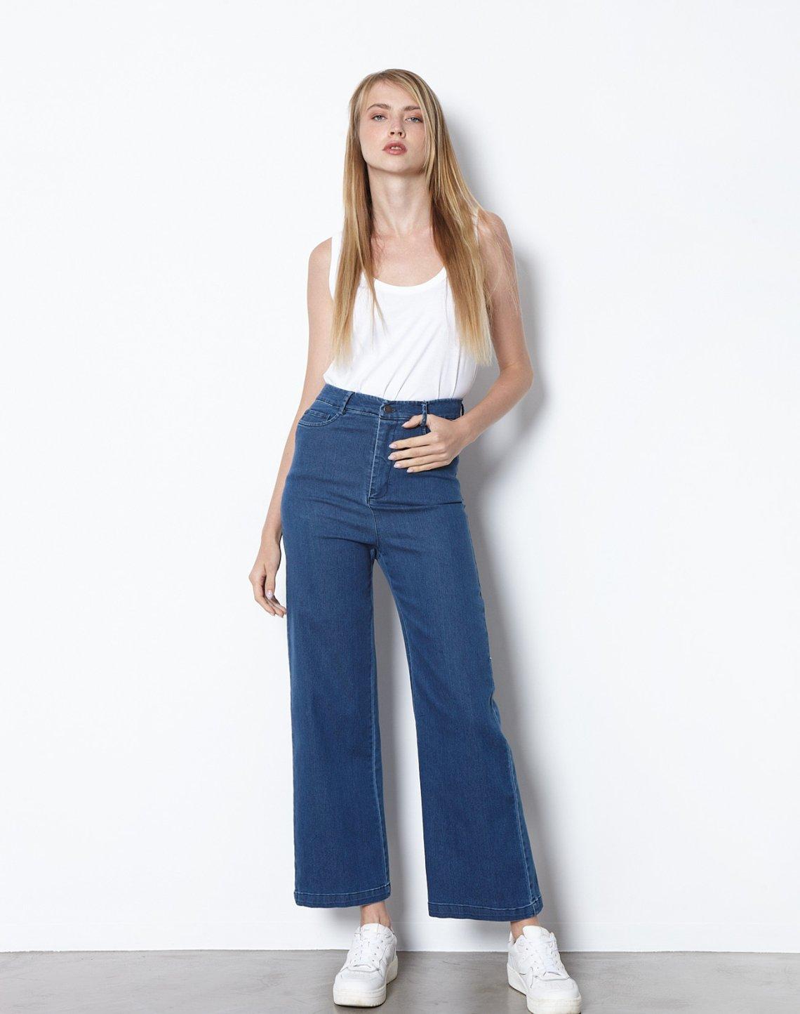 Ψηλόμεσο παντελόνι τζιν