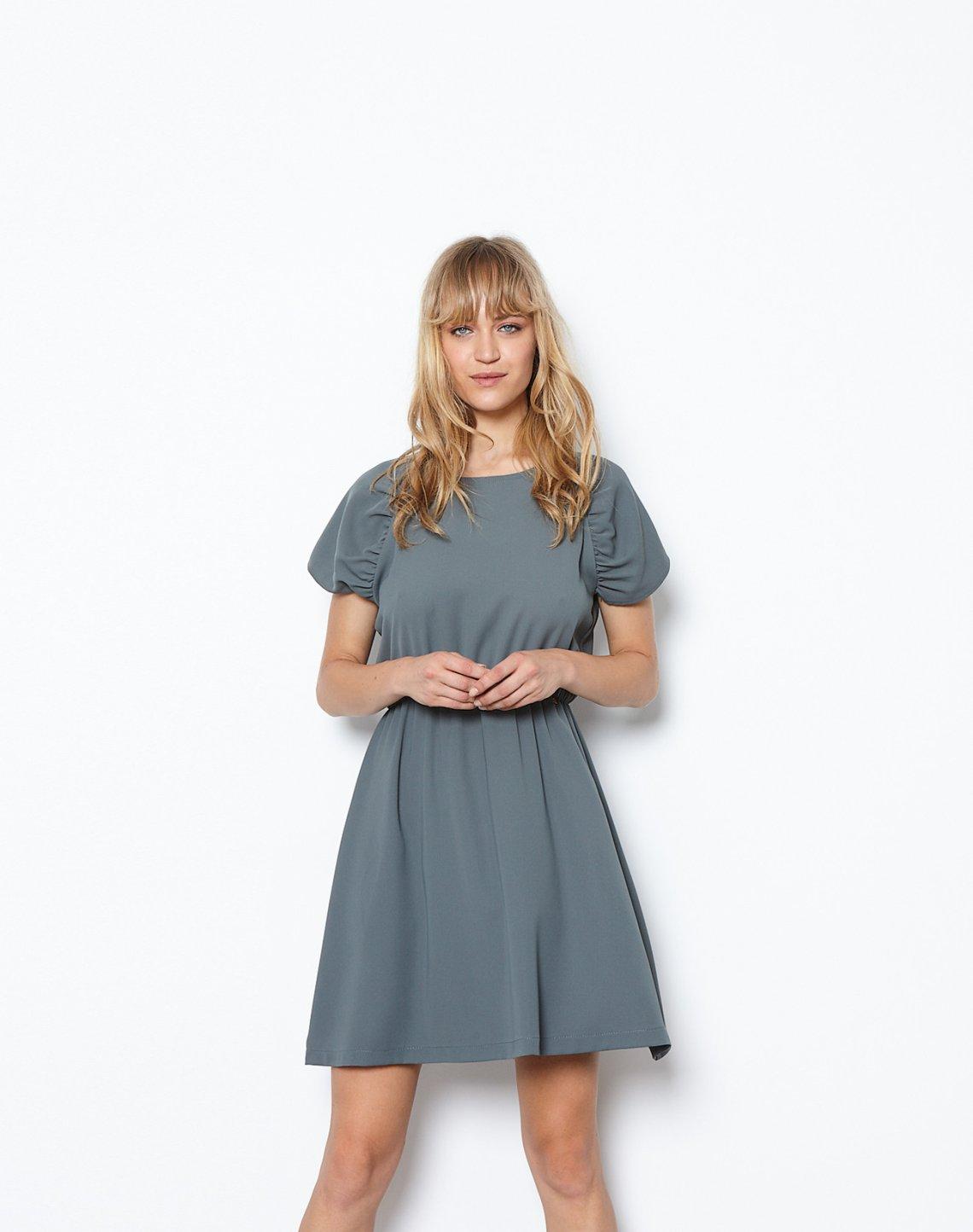 Μίνι φόρεμα με κουμπιά